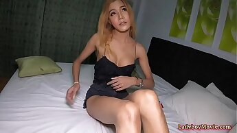 Ladyboy Bella Teases Guy And Gets Fucked